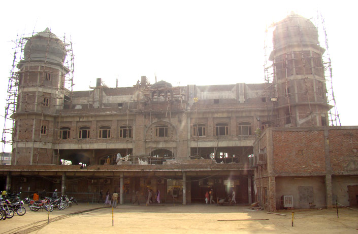 On Going Construction of Gurdwara Dukhniwaran Sahib, Ludhiana