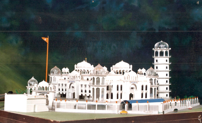 Model for Gurdwara Dukhniwaran Sahib, Ludhiana
